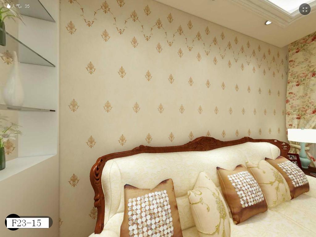 刺绣花边欧式小朵朵花顶边花边墙布